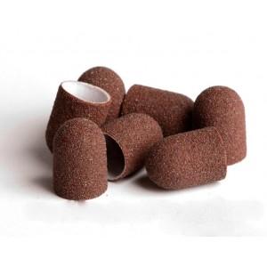 Lisanail Колпачки р-р 13, 80 грит (песочные) для педикюра