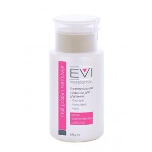 EVI professional  Средство для снятия биогеля, геля, гель-лака 150 мл (уп. 22 шт)