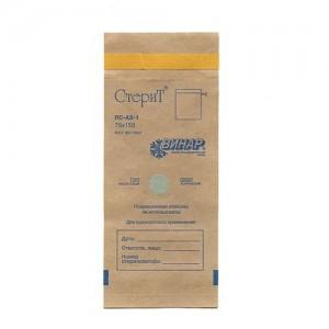 Винар (Стерит), Краф-пакеты коричн. 75х150 для стерилизации (100шт/уп)