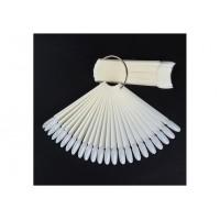 Палитра-веер на кольце Овальная (50 типс)