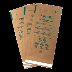 Медтест (Стеримаг), Крафт-пакеты коричн. 100х200 для стерилизации (100шт/уп)