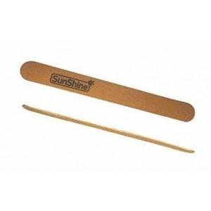Пилка 3 тонкая деревяная SunShine 100/180