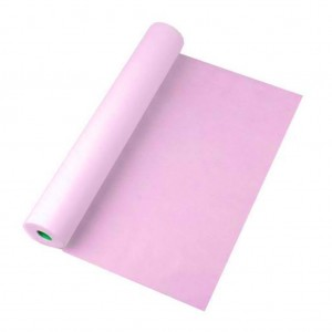 Простыни 70*200 в рулоне 100шт розовый Standart
