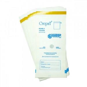 Медтест (Стеримаг), Пакеты белые 100х200 влагопрочн. для стерилизации (100шт/уп)