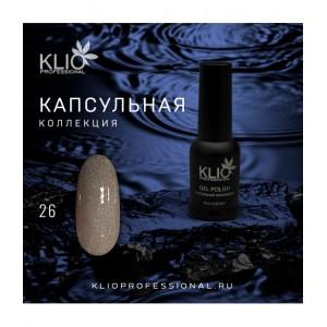 KLIO К026 (Капсульная коллекция) Гель-лак