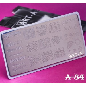 Art-A Пластина для стемпинга А084