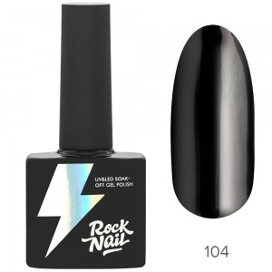 RockNail Basic Р104 Dark Of Night Гель лак