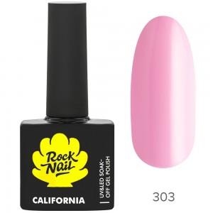 RockNail California Р303 Flamingo Гель лак