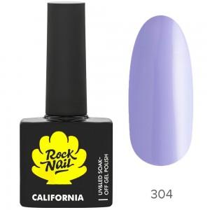 RockNail California Р304 Ultra Violet Гель лак