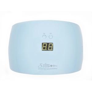 Soline Sun 9X Plus голубая 36 Ватт Лампа гибрид  для гель лака