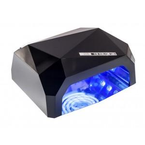 Soline Diamond 36 ватт черная Лампа гибрид CCFL+LED для гель лака