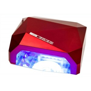 Soline Diamond 36 ватт Красная Лампа гибрид CCFL+LED для гель лака
