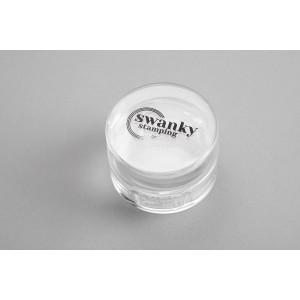 Штамп Swanky Stamping, силиконовый, прозрачный, круглый 4 см