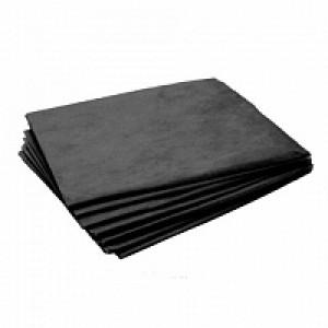 White line Простыня одноразовая 70*200 SS 17 черный 10 шт/пачка