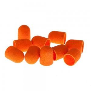 Lukas Колпачки педикюрные D10 мм Абразив 150 (Оранжевые) 10шт/упак
