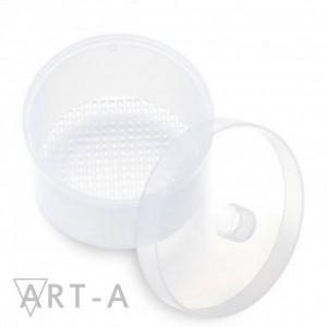 Art-A  Контейнер для дезинфекции фрез круглый (белый)