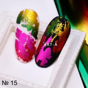 Art-A Фольга красно-желтая (15)
