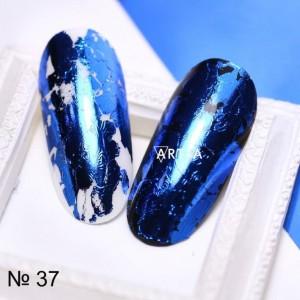Art-A  Фольга голубая (37)