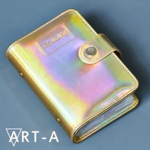 Art-A  Сумочка для пластин 12*6см  мираж золотой