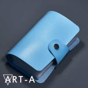 Art-A  Сумочка для пластин 12*6см голубая