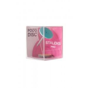 Staleks Диск педикюрный зонтик р-р M PODODISC (компл. со смен. файлами 180 грит 5 шт (20 мм))