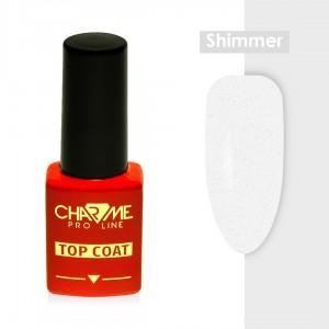 Charme Топ Shimmer Серебро без липкого слоя (10гр)