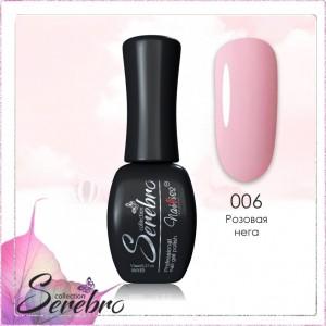 Serebro C006, 11 мл Гель лак